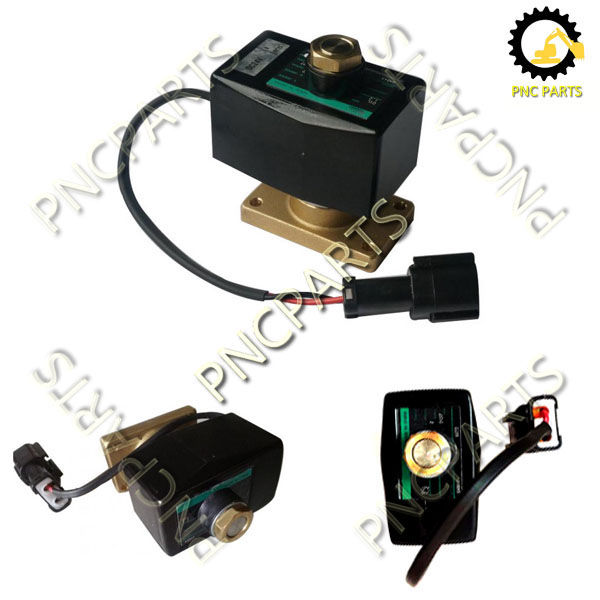 WA320 3 solenoid valve 714 07 16730 - WheelLoader Komatsu WA320-3 Transmission Control Valve 714-07-16730